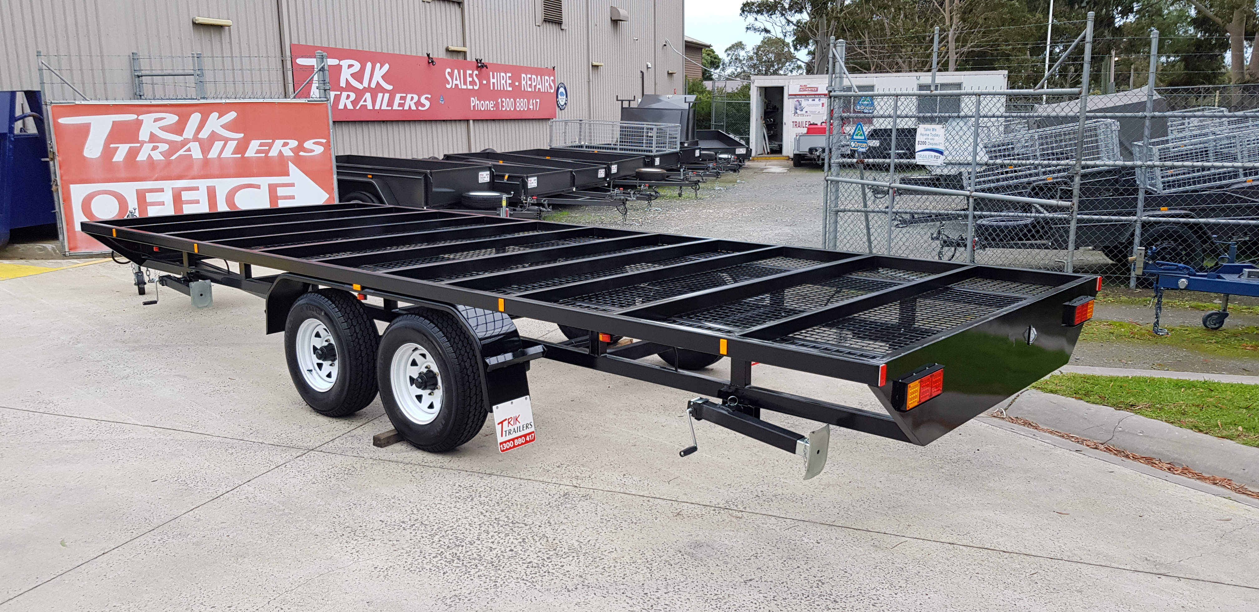 Tiny Home Chassis - Trik Trailers