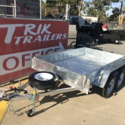 AUSSIE BULT GALVANISED TRAILER