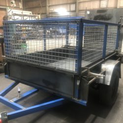 Trik Cage Trailer in Production line (1)